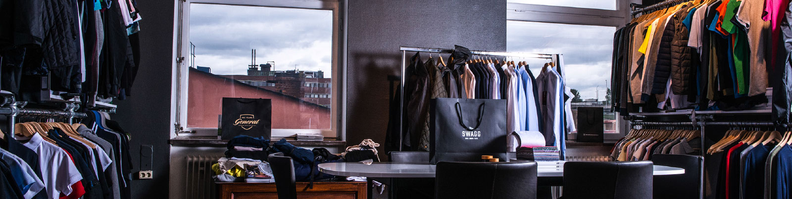 Swagg tryckeri Stockholm showroom