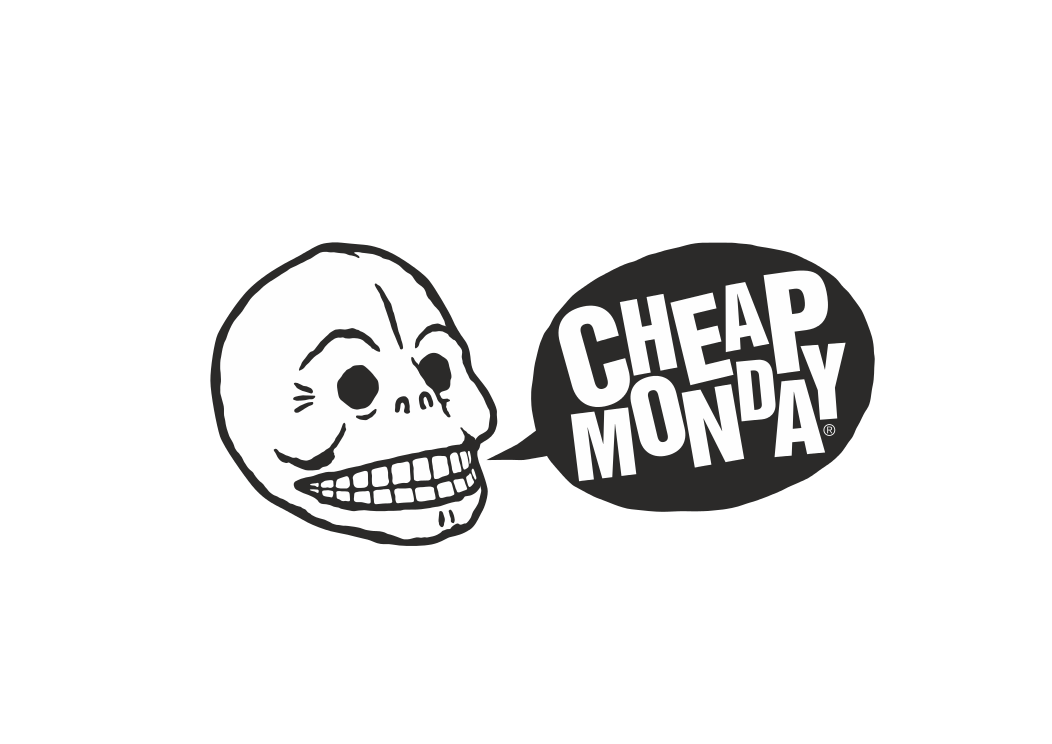 Cheap Monday logga Swagg